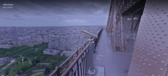 eiffel tower google